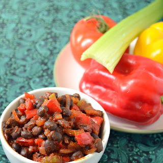 Barbeque Black Beans