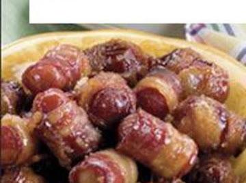 Bacon Wraped Mini Little Weenie Dogs By Freda Recipe