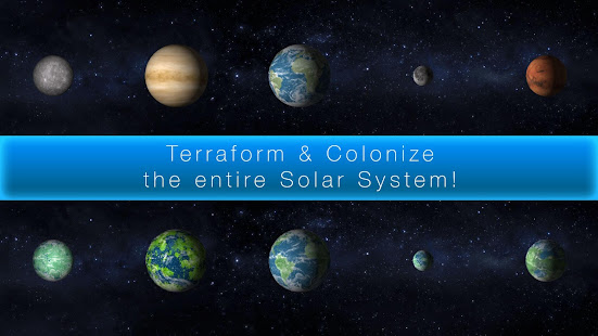 TerraGenesis – Space Colony v 4 9 20 APK + Hack MOD (Infinite points