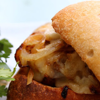 French Onion Meatball Sandwich Recipe