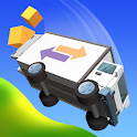 Crash Delivery! Destruction & smashing flying car! icon