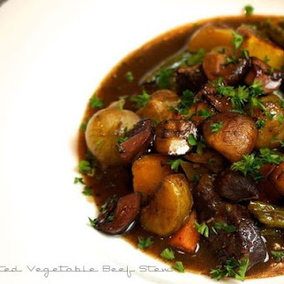 Roasted Vegetable Beef Stew