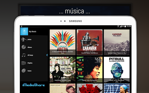 iMediaShare – Fotos y música screenshot 11
