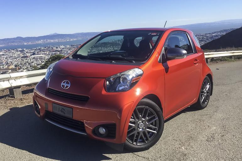 Rent a Burnt Orange Scion iQ in San Francisco - Getaround