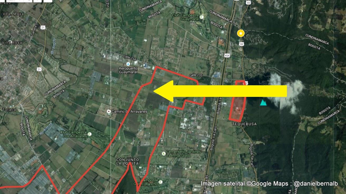 Ruta de conectividad que ofrece la Reserva Van der Hammen