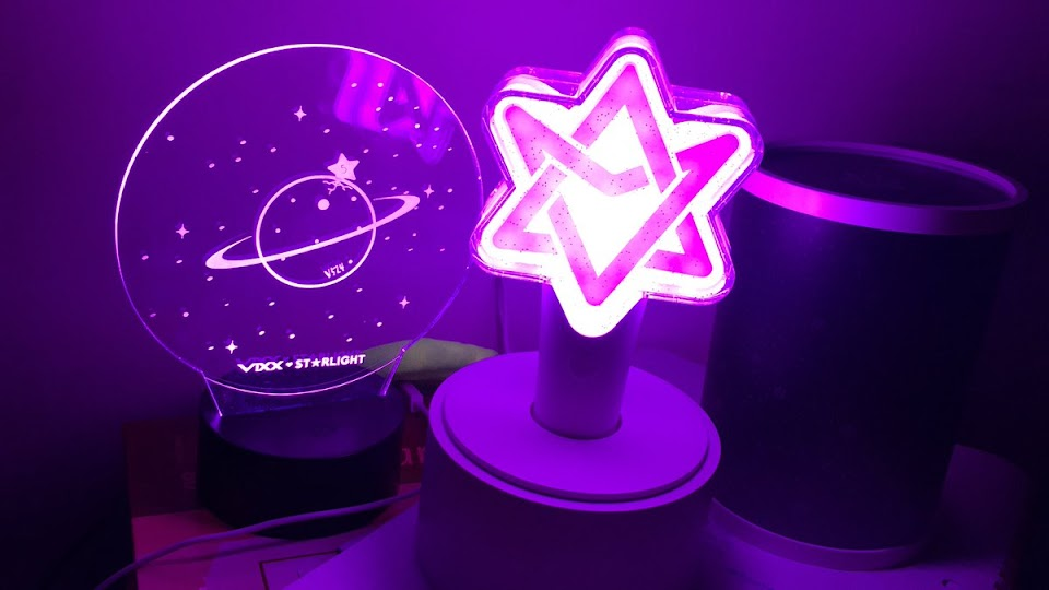 kpop lightstick brightest 17