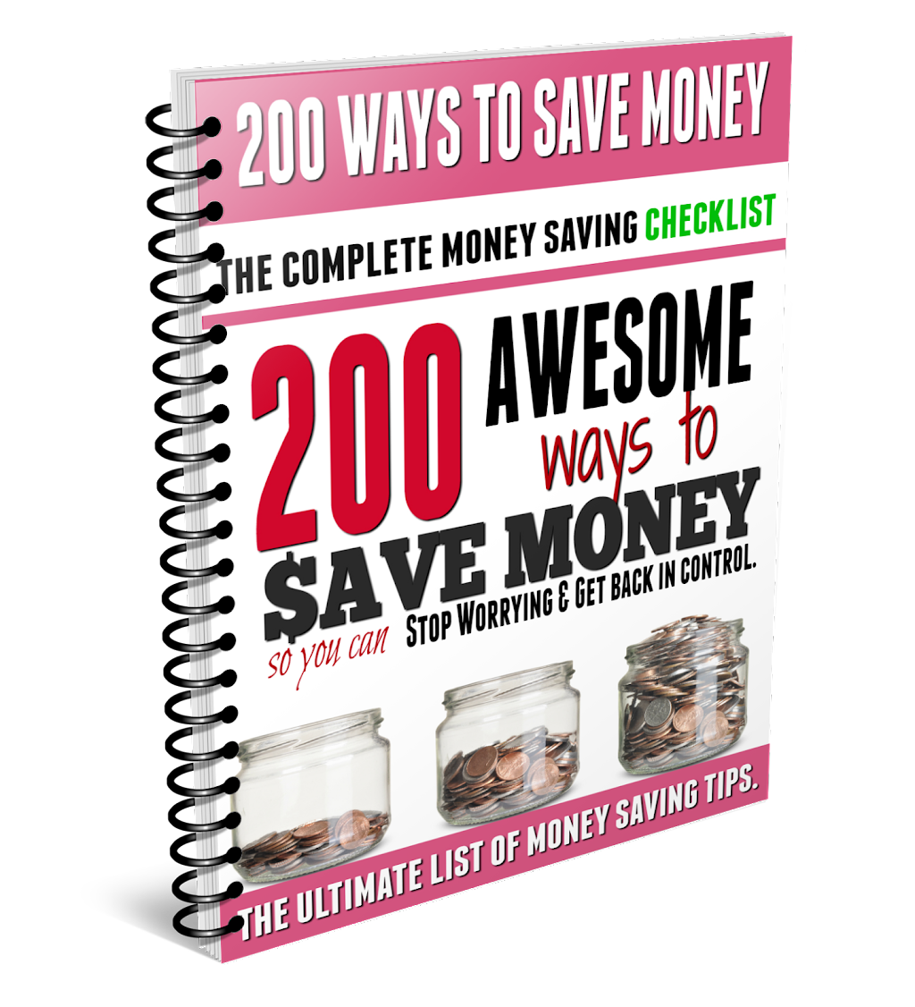 200 Ways to Save Money