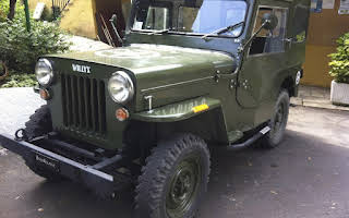 Jeep Willys Rent Liguria