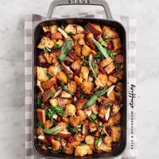 Kale & Shiitake Mushroom Stuffing Recipe