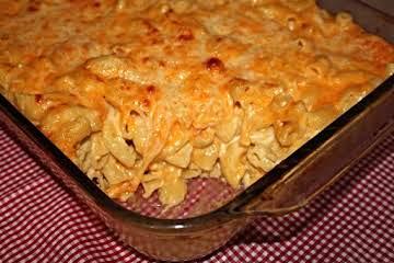 8-Cheese Baked Macaroni