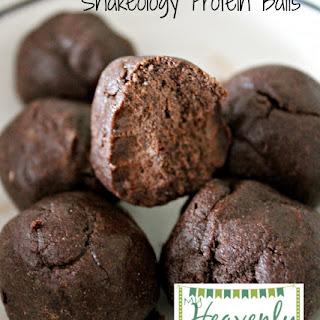 Shakeology Chocolate Protein Balls Recipe
