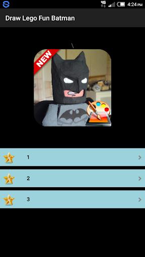Draw Lego Batman