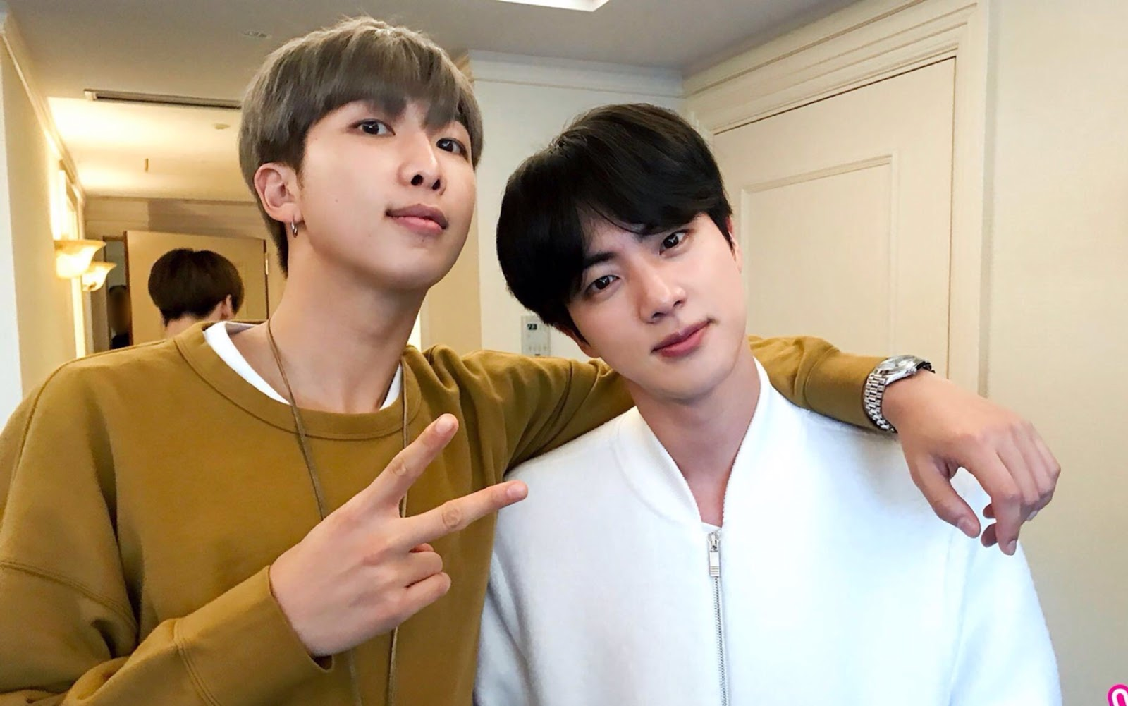 bts rm and jin