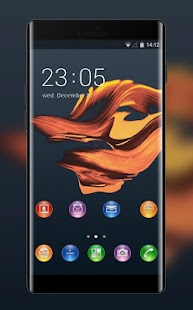 Theme for Xperia Ion: Golden Wallpaper & Icons - náhled