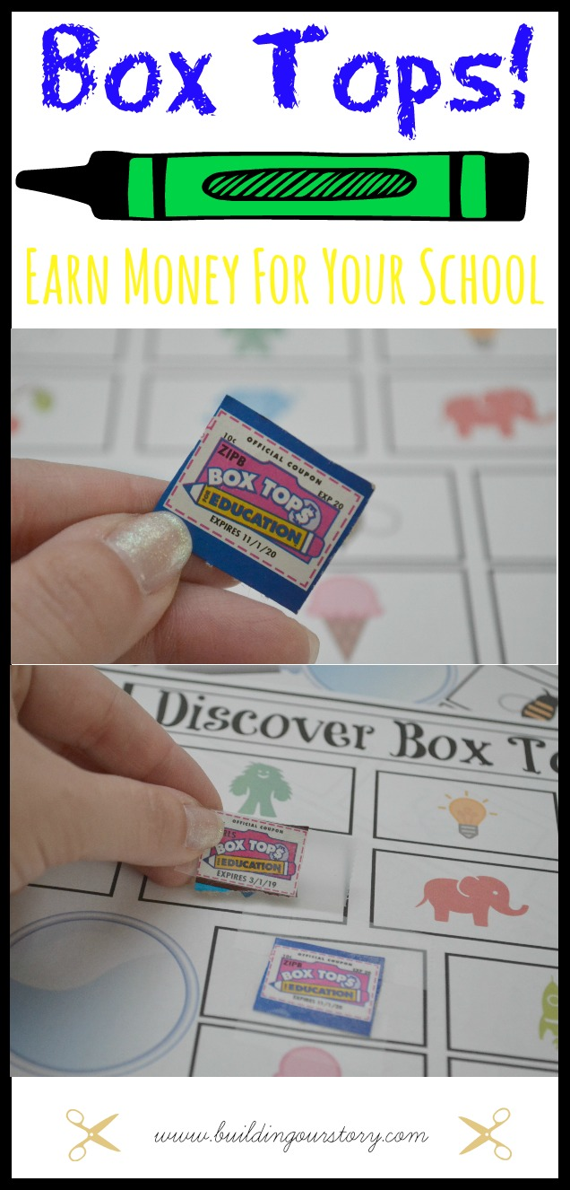 Back-To-School with Box Tops + Free Printable, Box Tops printable, collecting box tops, great ways to collect box tops, free printable for box tops, back to school with box tops