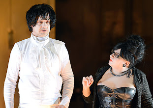 Photo: WIEN/ Akademietheater: DER TALISMAN von Johann Nestroy. Premiere 2. März 2013. Inszenierung: David Boesch. Dietmar Koenig, Maria Happel. Foto: Barbara Zeininger.