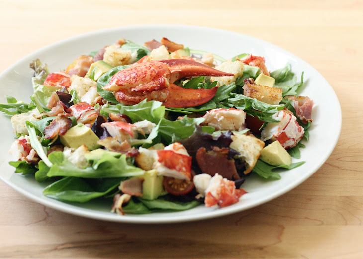 Lobster Club Salad with Champagne Vinaigrette Recipe
