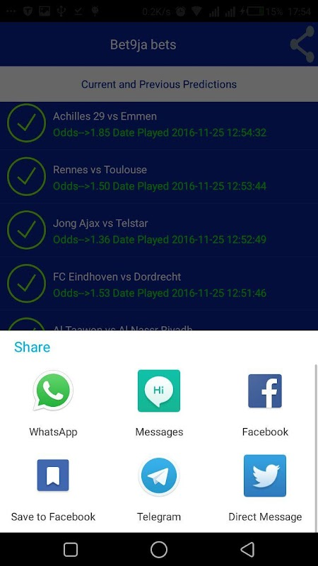 Download Bet9ja Bets APK + Mod APK + Obb data version by Sytams
