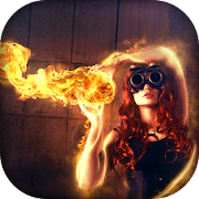 Fire Photo Lab : HD Camera Photo Effect