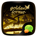 FREE-GO SMS GOLD FOREST THEME icon