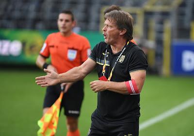 Franky Vercauteren confirme l'intérêt de l'Antwerp pour Adolfo Gaich