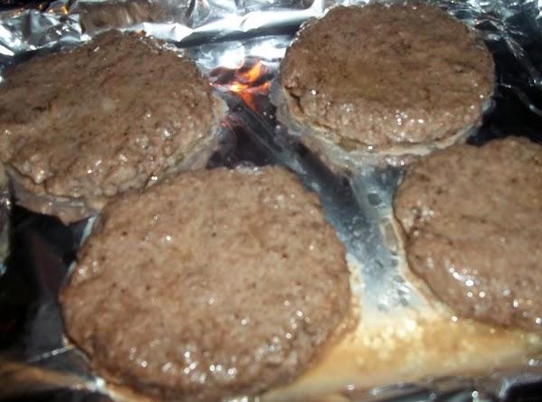 Broil until browned, about 4 minutes per side for medium rare. I broil til...