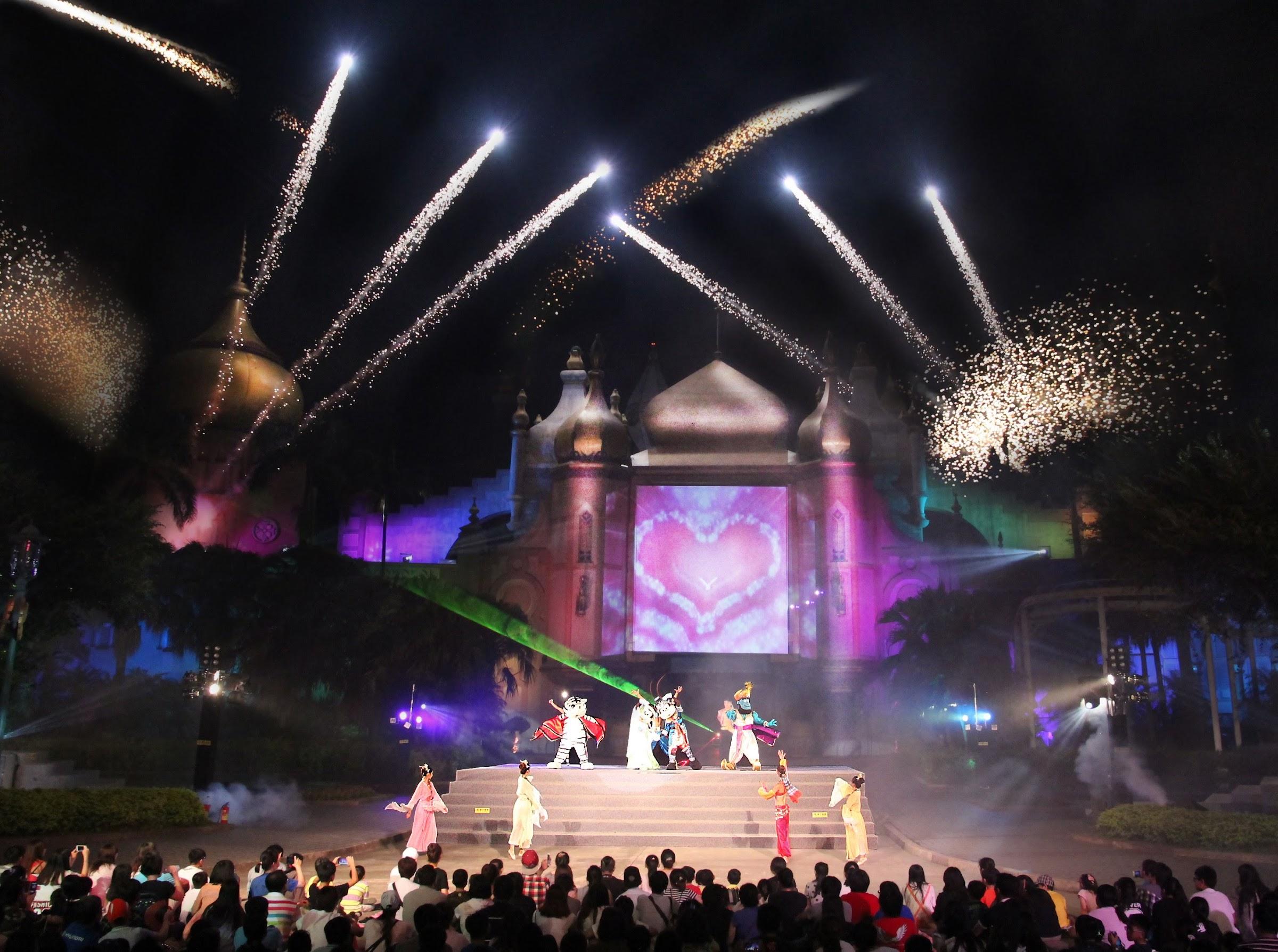 六福村-7.8月假日夜間煙火秀
