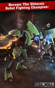 Iron Kill Robot Fighting Games Screenshot 2