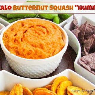 """Buffalo Butternut Squash """"Hummus""""."""