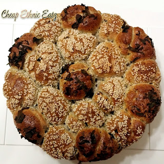 Dusle Pull Apart Rolls with Chia, Flax and Sesame Seeds