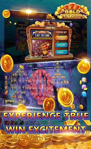 Gold Storm Casino - Asian Fishing Arcade Carnival 1.0.39 screenshots 2