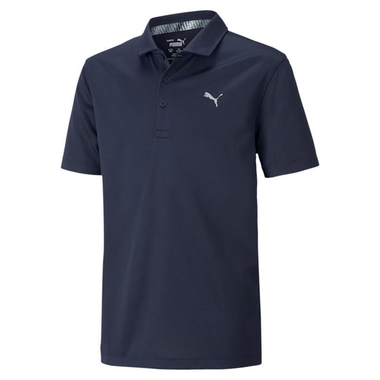 Puma Golf Essential Polo Junior Navy
