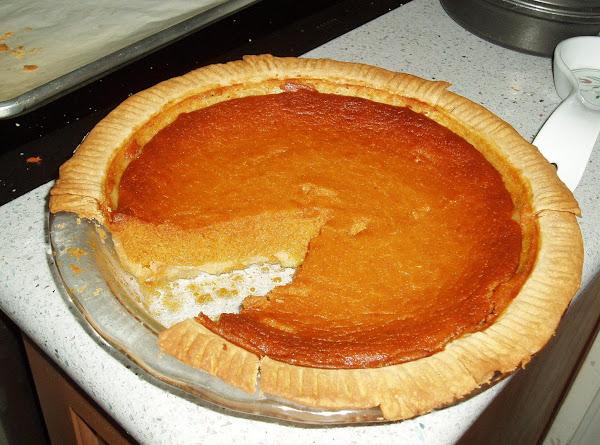 Roasted Sweet Potato Pie Recipe