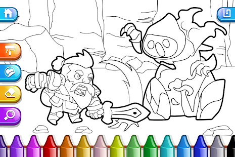 Screenshot For My Coloring Book Boys