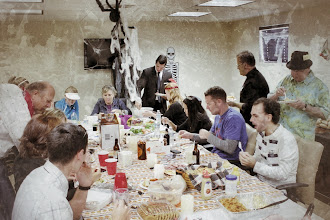 Photo: The 504 Experts of Mercantile Capital Corporation enjoying our Halloween feast! www.504Expert.com