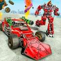 Ramp Car Robot Transforming Game: Robot Car Games icon