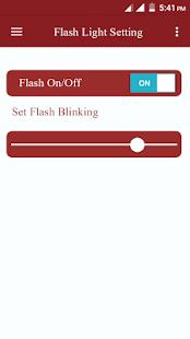 Flash Light On Voice - náhled