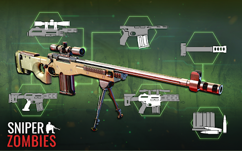 Sniper Zombies Offline Game Mod Apk 1.24.1 (Unlimited Gold) 2