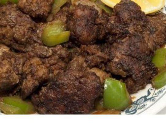 Liver 'n' Pepper Saute - Vintage Weight Watchers Recipe