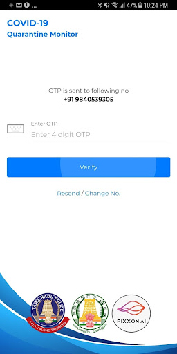 COVID-19 Quarantine Monitor Tamil Nadu (official) 0.0.3 screenshots 2