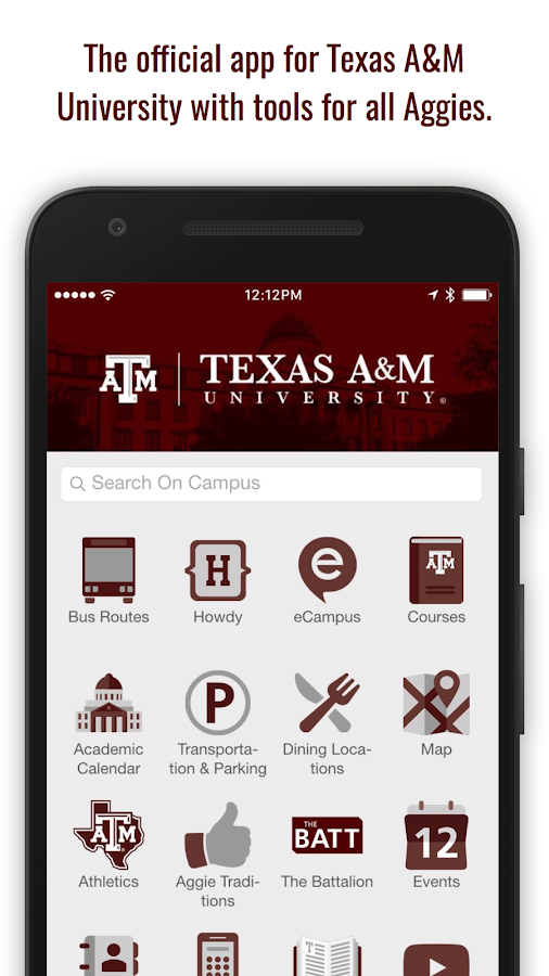 Texas A&M University- screenshot