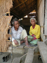 Photo: Nha Oum (recently deceased) and wife provided with breeding calf by CLMF
