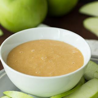 Easy Caramallow Fruit Dip and a Gourmet Caramel Apple Bar