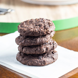 Fudgy Black Bean Cookies
