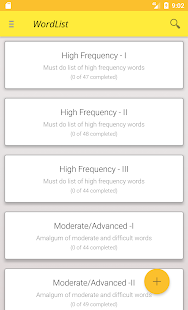 Vocabulary Flashcards - náhled