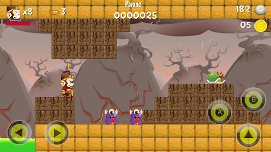 Super Jungle World Adventure screenshot 12