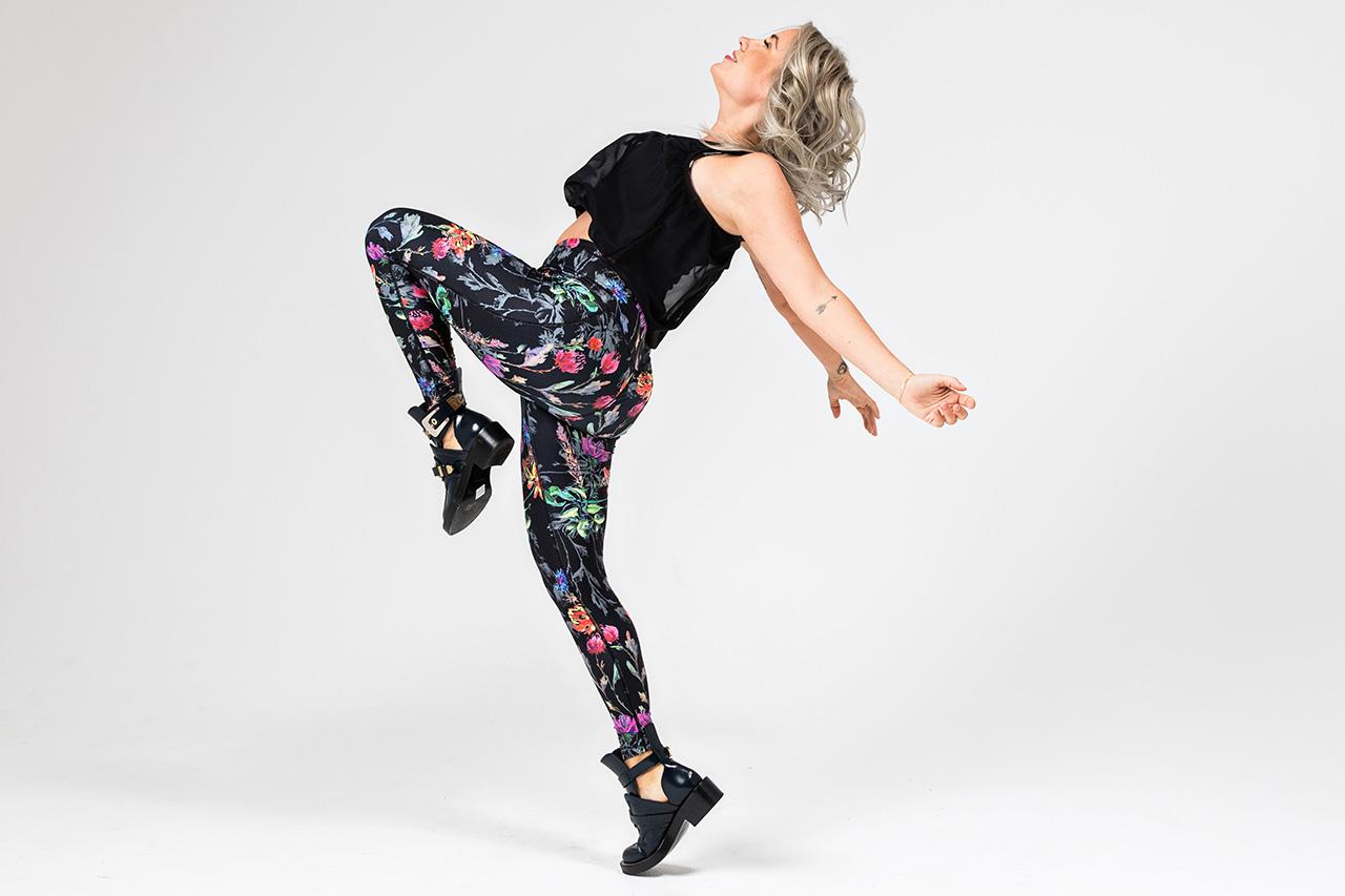 Kathryn Eternity Yoga Legging in Wildflower