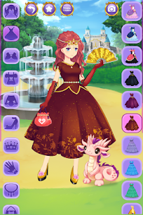 Anime Princess Dress Up 2