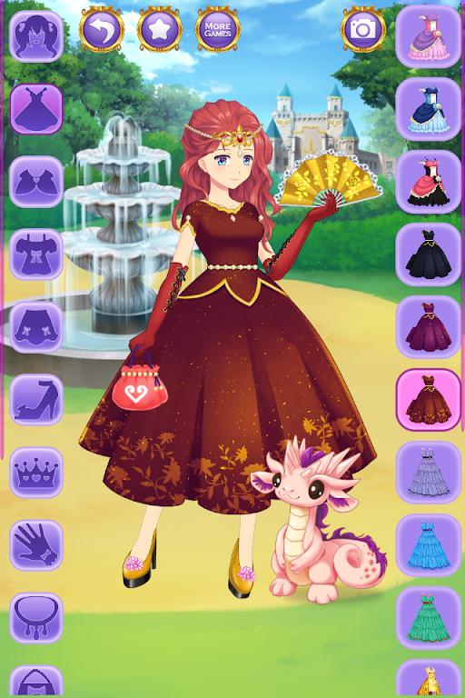 Descargar Juego De Vestir Princesa Anime Apk última Versión