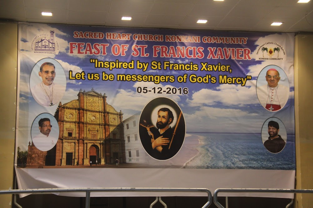 Feast of St. Francis Xavier 2016